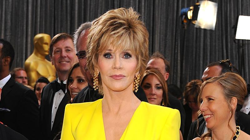 Jane Fonda, 82, describes spending night in jail after arrest at protest