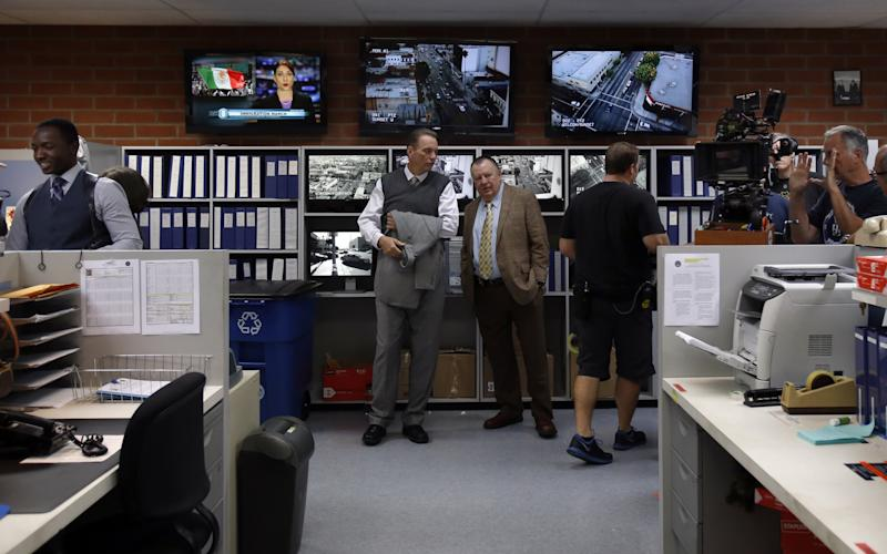 The TV series Bosch, filmed in LA: the set is a replica of Hollywood's LAPD
