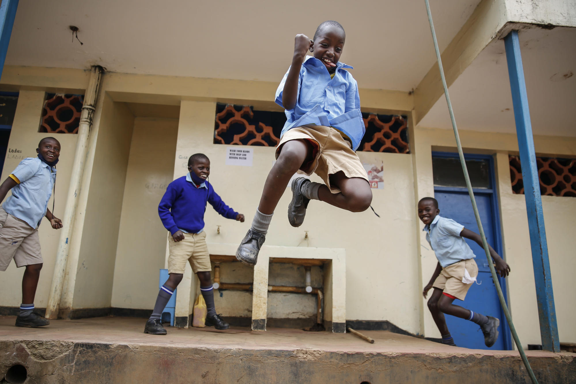 As schools reopen in Africa, relief is matched by anxiety