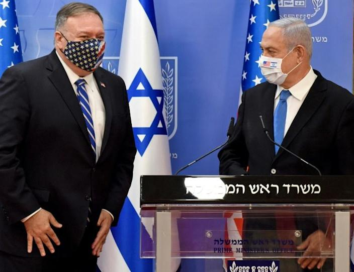 Pompeo will meet Israeli Prime Minister Benjamin Netanyahu. The two men held a joint press conference in Jerusalem in August