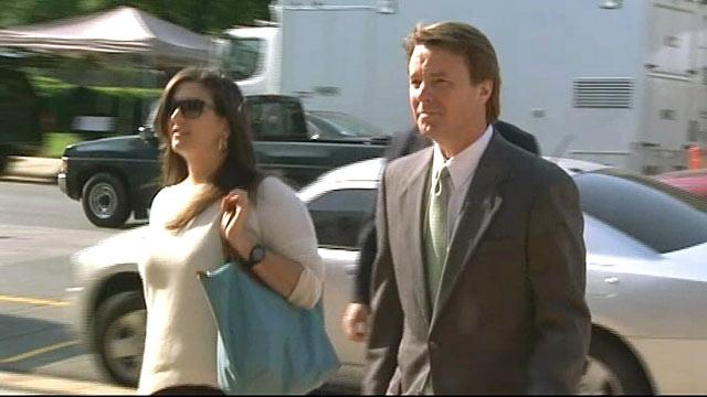 John Edwards' Wife Tore Off Her Shirt and Collapsed Over His Affair