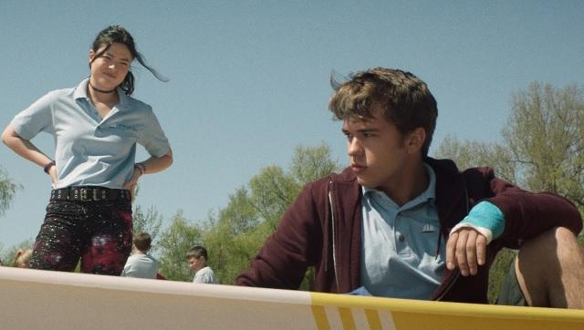 Piper Curda as Mallory and John-Paul Howard as Ben in a still from The Wretched