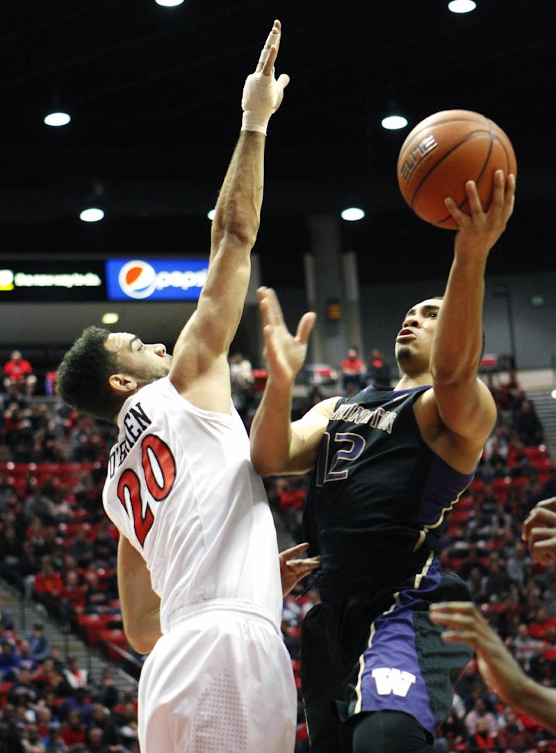 Thames helps No. 24 San Diego State rally for win
