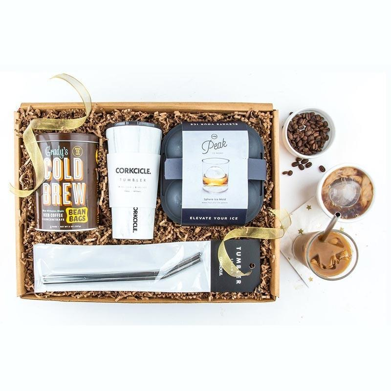"Everyone has that one friend who shamelessly guzzles iced coffee year-round, and with this kit they won't even have to leave the house when the temperatures dip way down. $79, Mouth. <a href=""https://www.mouth.com/collections/coffee-tea-hot-chocolate/products/cold-brew-kit-gift-box#variant=28530126749730"" rel=""nofollow noopener"" target=""_blank"" data-ylk=""slk:Get it now!"" class=""link rapid-noclick-resp"">Get it now!</a>"