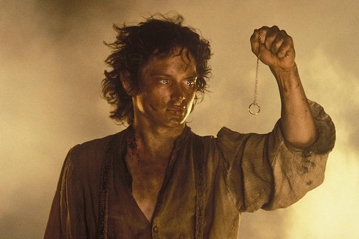 """Elijah Wood as Frodo Baggins in 'The Lord of the Rings: The Return of the King.'<span class=""""copyright"""">Pierre Vinet—New Line Cinema</span>"""