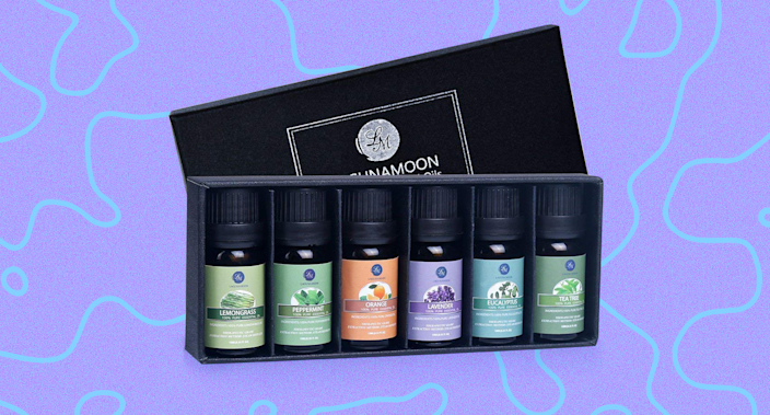 This gorgeous essential oils kit may very well be the most perfect 2020 gift of all—and it's just 10 bucks. (Photo: Amazon)