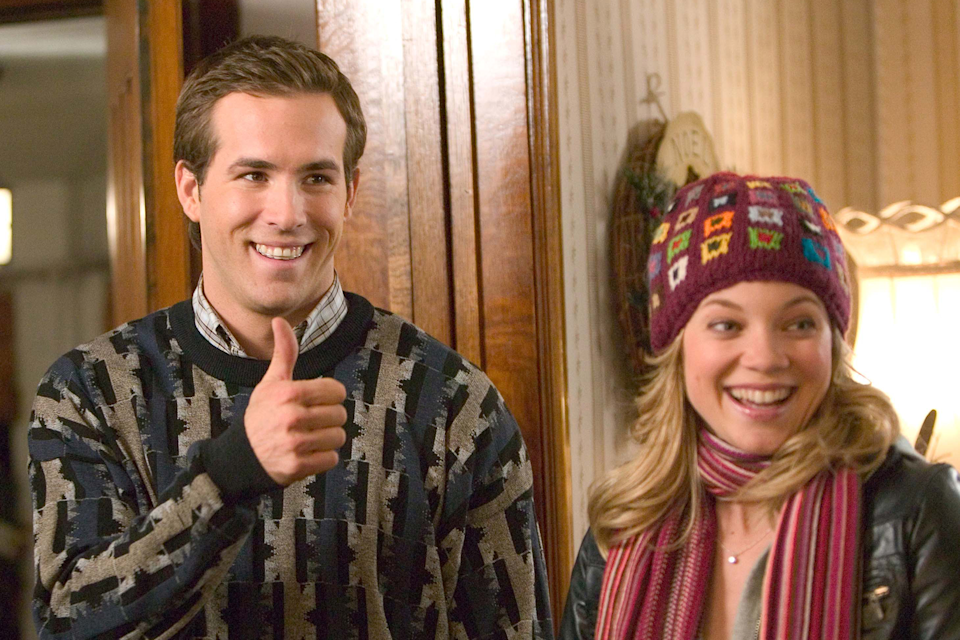 """<em><h3>Just Friends</h3></em><h3>, </h3><strong><h3>2005</h3></strong><h3><br></h3><br>Long before Ryan Reynolds was the internet's favorite snarky boyfriend in a Deadpool suit, he was the star of this classic. Yes, it is a classic. Reynolds is at his sarcastic best in this one. And never forget the magic of Anna Farris as a pop star whose voice will haunt your dreams after you hear songs like """"Forgiveness.""""<br><br><strong>Watch It On:</strong> Netflix<span class=""""copyright"""">Photo: Moviestore Collection/REX/Shutterstock.</span>"""