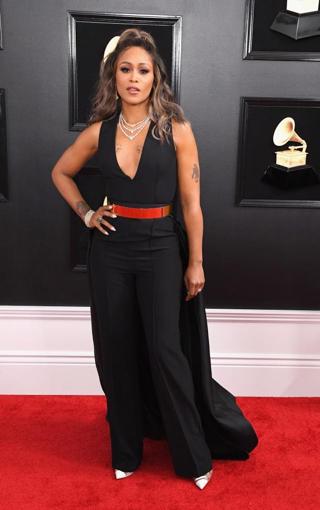 <p>Eve attends the 61st annual Grammy Awards at Staples Center on Feb. 10, 2019, in Los Angeles. </p>