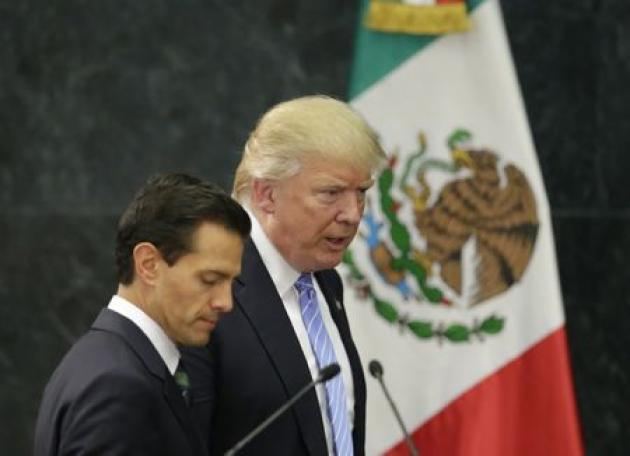 Mexican president Pena Nieto to meet with Trump at G20