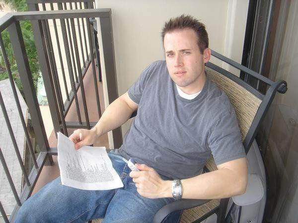 An undated photo of Travis Alexander that he posted to his MySpace page. According to the caption, the photo was taken in Hawaii.