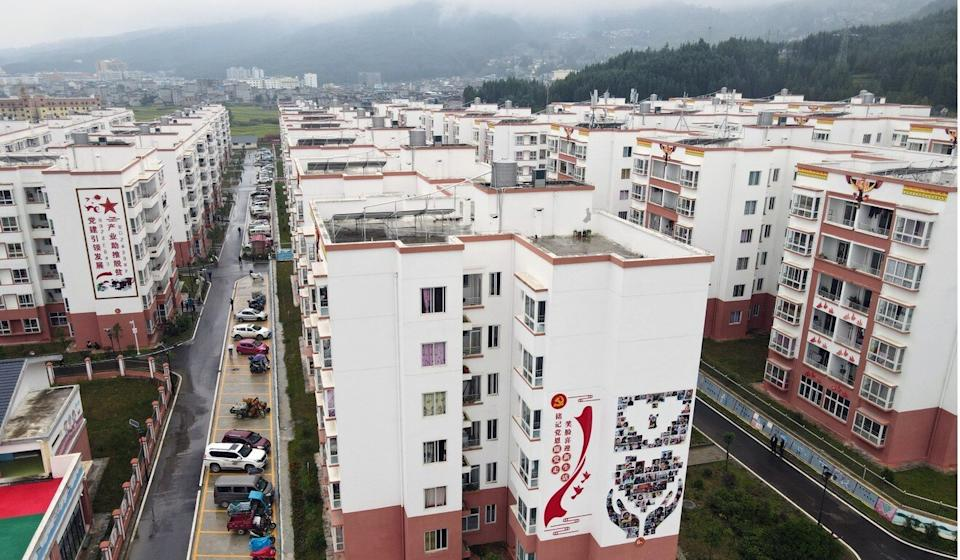 China has built new communities for the relocated families. Photo: Simon Song