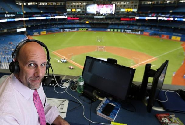 Dan Shulman is stepping down as the voice of 'Sunday Night Baseball' after this season. (Getty Images)