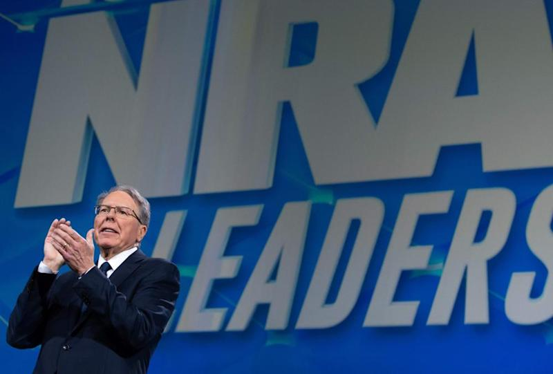Wayne LaPierre, executive vice-president of the NRA.