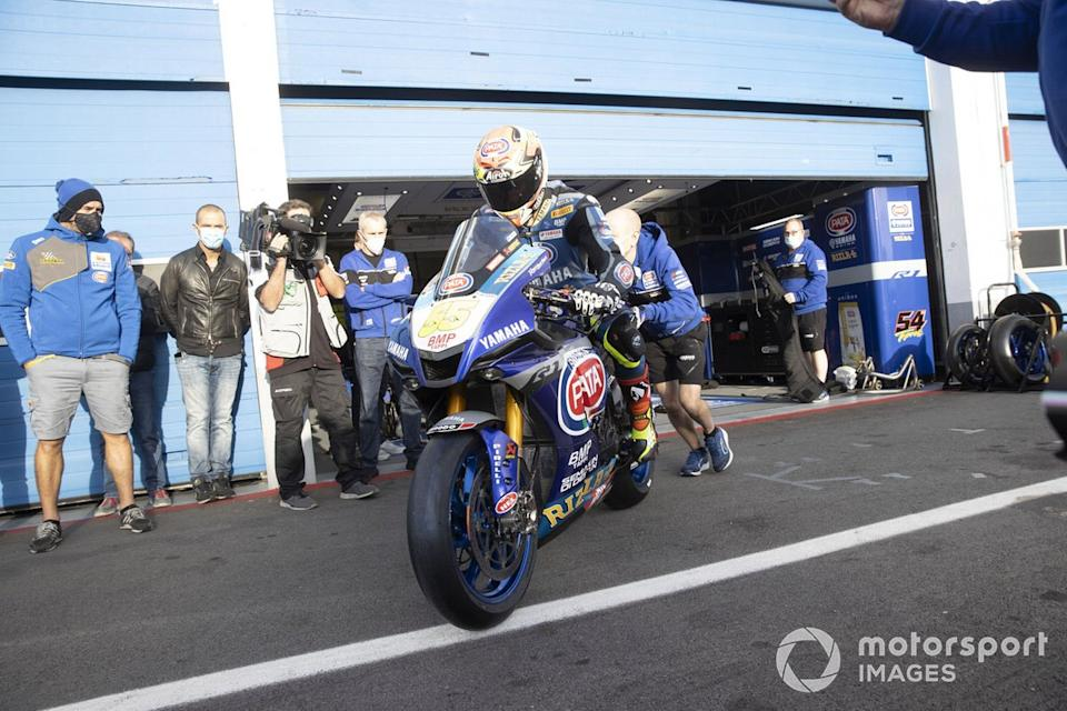 """Andrea Locatelli, Pata Yamaha<span class=""""copyright"""">Gold and Goose / Motorsport Images</span>"""