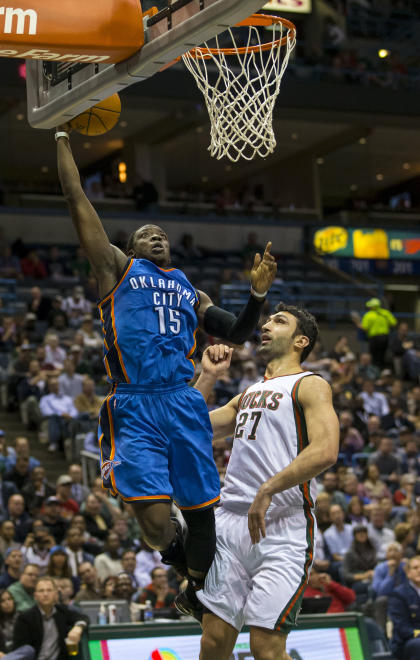 Jackson is flourishing in the role of leading the Thunder without Kevin Durant and Russell Westbrook. (USA TODAY Sports)
