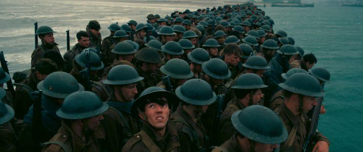 Hailed... Christopher Nolan's Dunkirk is getting plaudits on social media - Credit: Warner Bros
