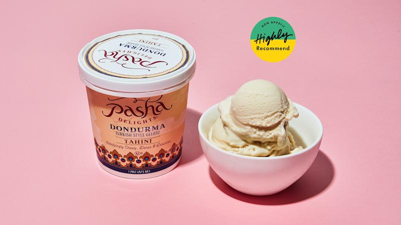 This Tahini Gelato Is What All Tahini Desserts Aspire To