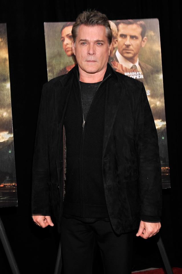 "NEW YORK, NY - MARCH 28:  Actor Ray Liotta attends ""The Place Beyond The Pines"" New York Premiere at Landmark Sunshine Cinema on March 28, 2013 in New York City.  (Photo by Stephen Lovekin/Getty Images)"