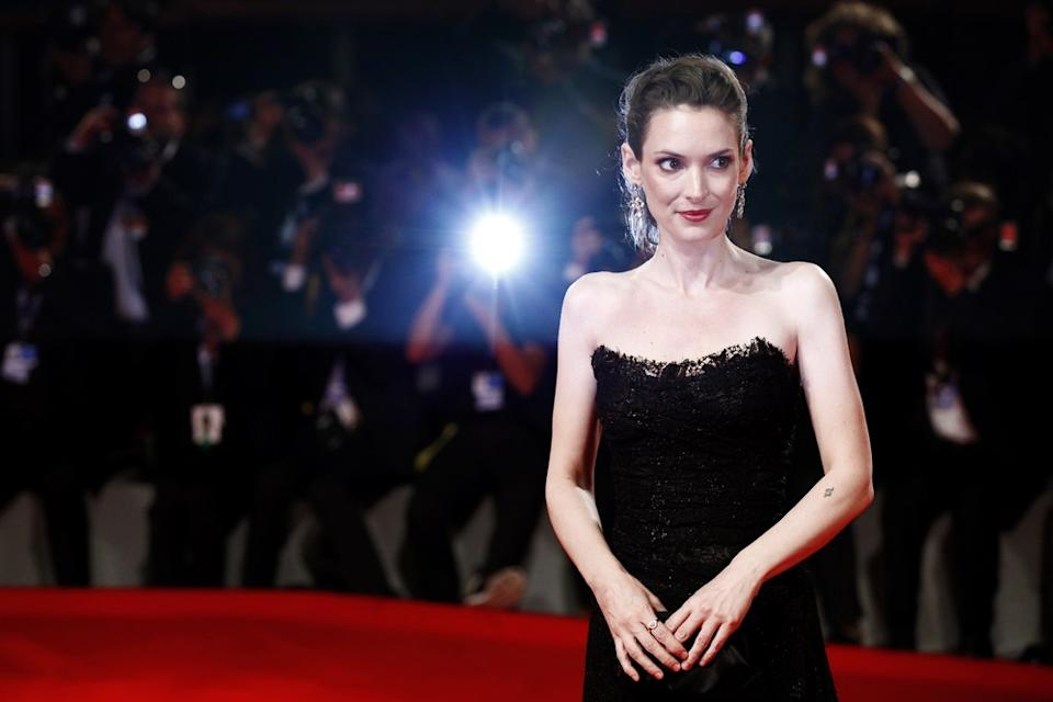 Winona Ryder red carpet