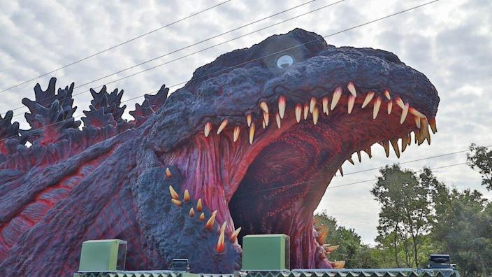 Godzilla, now coming to a theme park near you