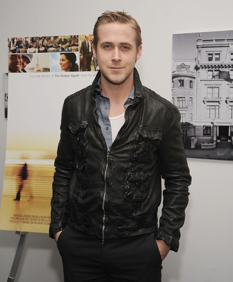 "<a href=""http://movies.yahoo.com/movie/contributor/1804035474"">Ryan Gosling</a> at the New York premiere of <a href=""http://movies.yahoo.com/movie/1809773648/info"">The Visitor</a> - 04/01/2008"