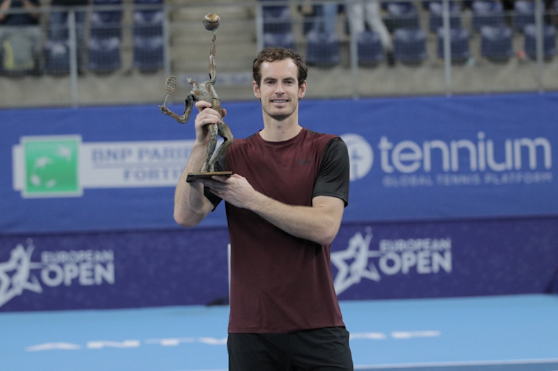 Andy Murray Continues Meteoric Rise in ATP Rankings After Antwerp Title