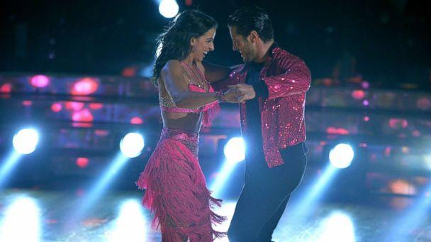 PHOTO: Victoria Arlen and Val Chmerkovskiy compete on 'Dancing With The Stars.' (Eric McCandless/ABC)