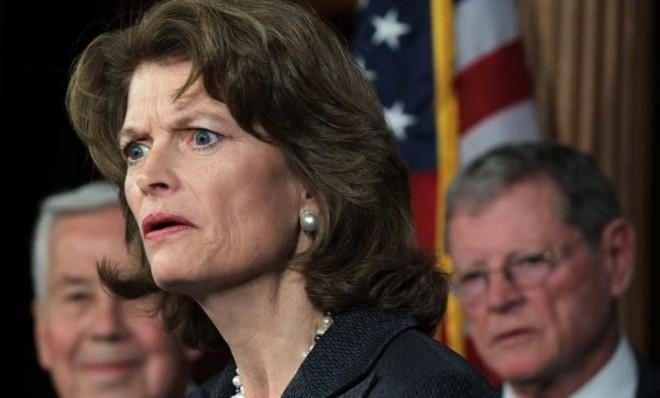 Breaking with Republican leadership, Sen. Lisa Murkowski says Congress must raise the debt ceiling.