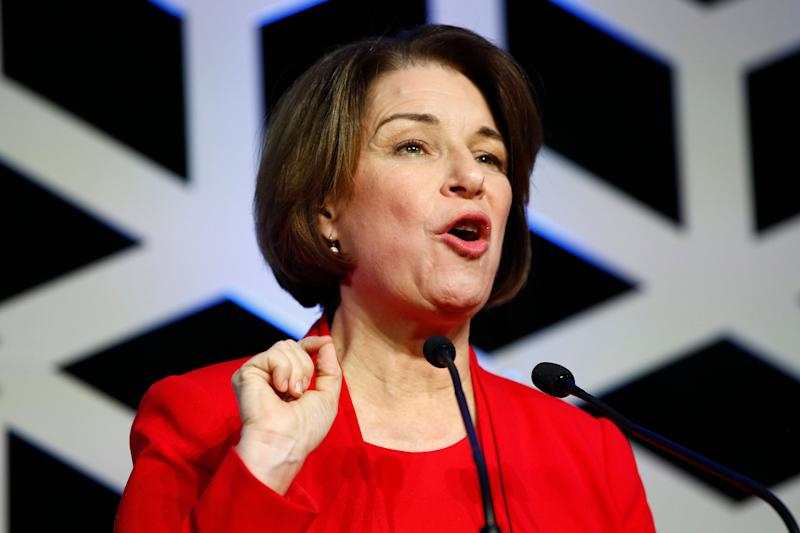 As county attorney in Hennepin County, Amy Klobuchar had a tense relationship with the Black community for her refusal to bring charges against police officersin certain cases. (Photo: Patrick Semansky/Associated Press)