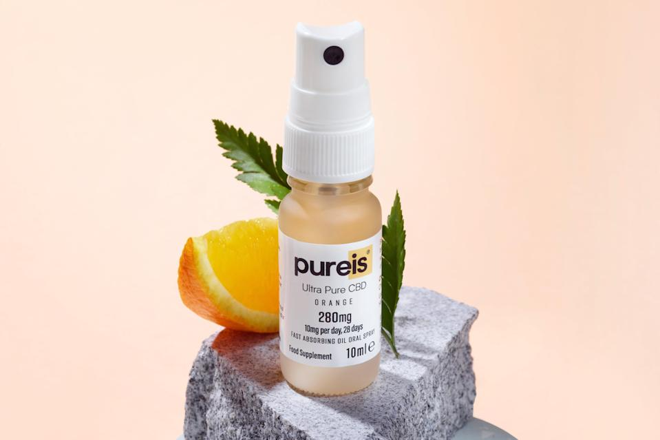 """<p>The brand makes """"ultra-pure"""" cannabidiol food supplements helping the stomach and the gut, which just launched in UK stores including Boots and Holland & Barrett. Further expansion is planned this year.</p> (Pureis )"""