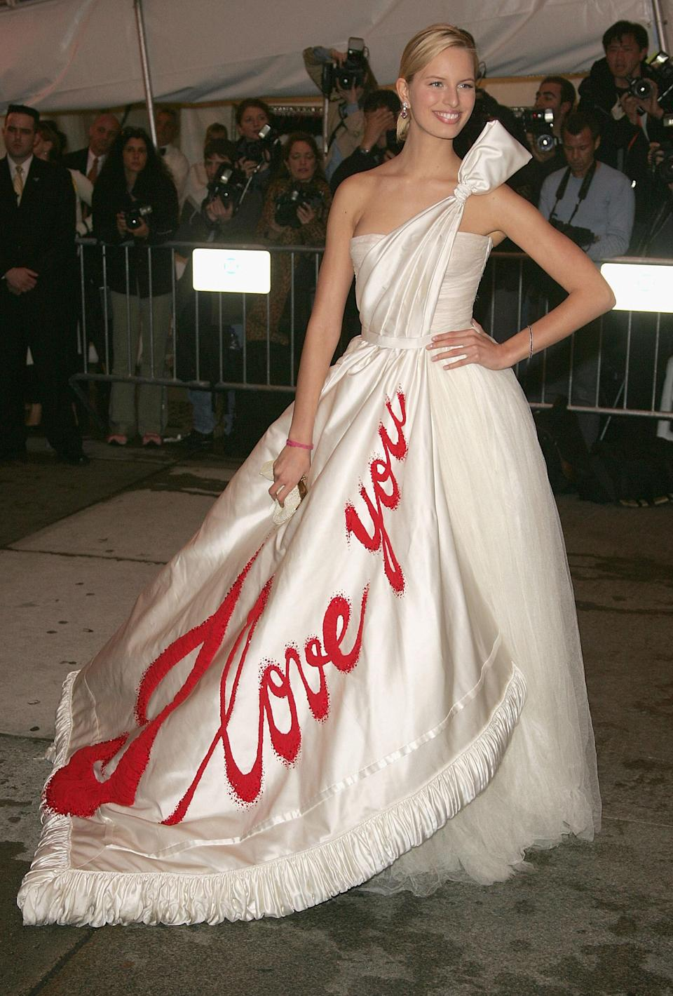 """<h1 class=""""title"""">Karolina Kurkova in Viktor and Rolf, 2005</h1><cite class=""""credit"""">Photo: Getty Images</cite>"""
