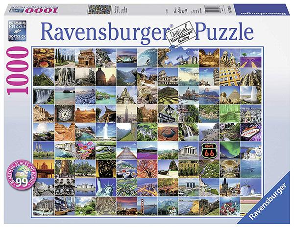 Ravensburger 99 Beautiful Places on Earth 1000 Piece Jigsaw Puzzle (Photo: Amazon)