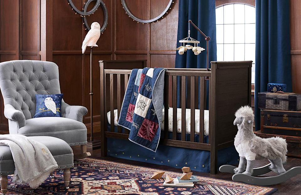 <p>This nursery is so sophisticated! </p>