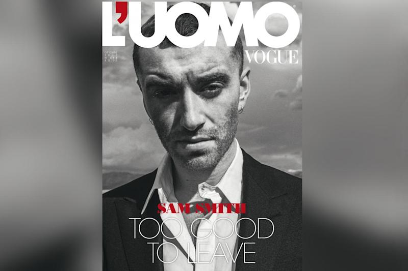Cover star: Sam Smith on Italian Vogue (Cole Sprouse/ UOMO Vogue)