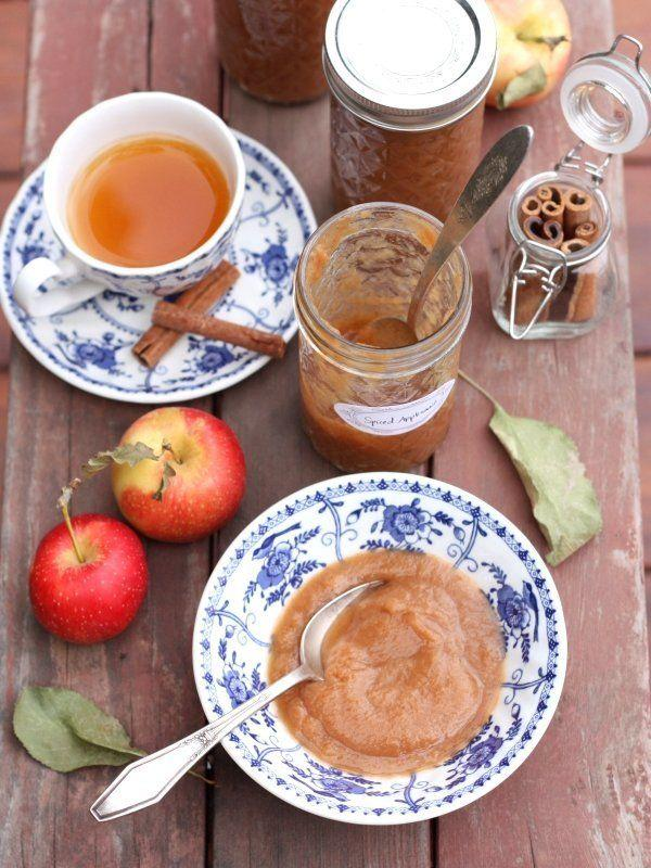 "<strong>Get the <a href=""http://www.completelydelicious.com/slow-cooker-spiced-applesauce-a-hamilton-beach-giveaway/"" target=""_blank"">Slow Cooker Spiced Applesauce recipe</a> from Completely Delicious</strong>"