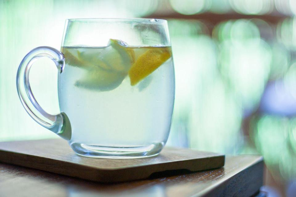 <p>According to Gisele's Instagram posts, she starts every morning with a glass of warm water with lemon. So even her hydrating routine is miles ahead of ours.</p>