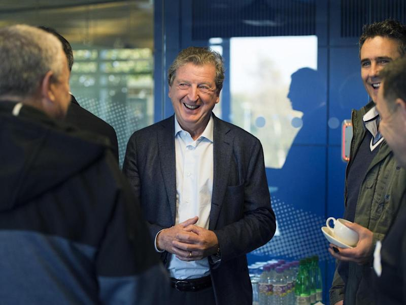 Hodgson is due to work with the club for around a month (Getty)