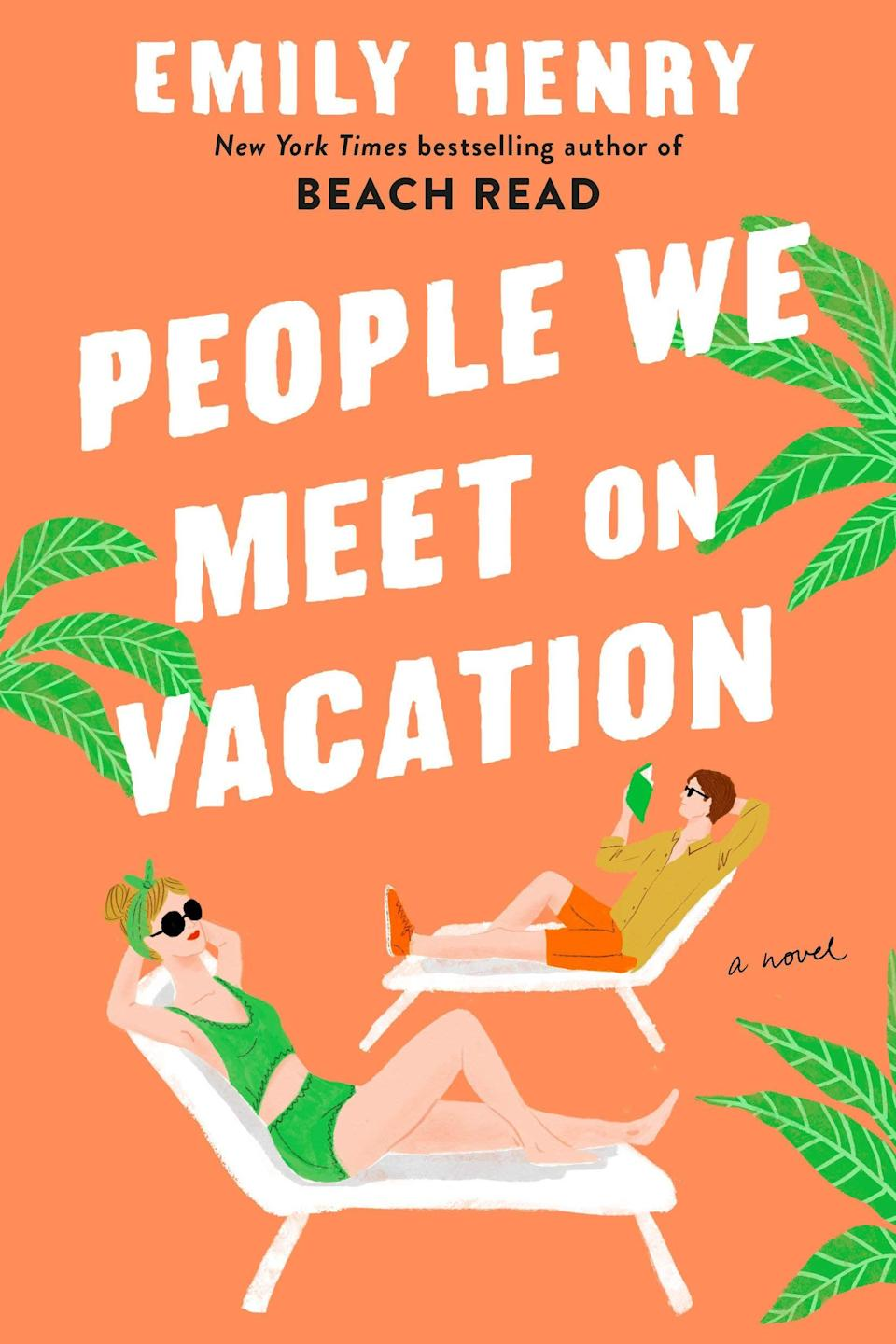 <p><strong>Beach Read</strong> was one of the must-read rom-coms of 2020, and now Emily Henry is on track the claim the title again with her 2021 romance, <span><strong>People We Meet on Vacation</strong></span>. Best friends Poppy and Alex have nothing in common, yet their bond is unshakable. Well, at least it is until a disastrous vacation effectively ends their friendship, but Poppy has a plan: she and Alex are going to take one more trip for old time's sake and finally address the truth about their relationship once and for all. </p> <p><em>Out May 11</em></p>