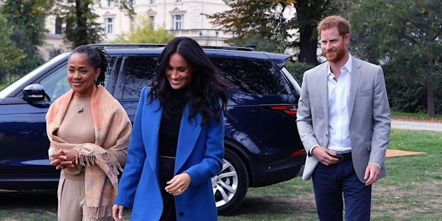 prince harry and meghan markle are converting their montecito guest house for her mom doria ragland prince harry and meghan markle are