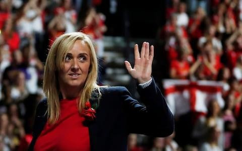 Neville remained tight-lipped over who will succeed her at the helm - Credit: REUTERS