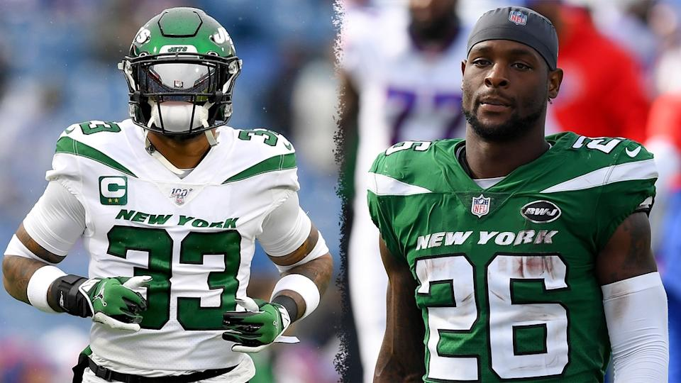 Jamal Adams Le'Veon Bell treated image