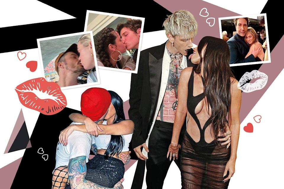 Getting hot in here: the celebrity PDA is back on (Evening Standard comp)