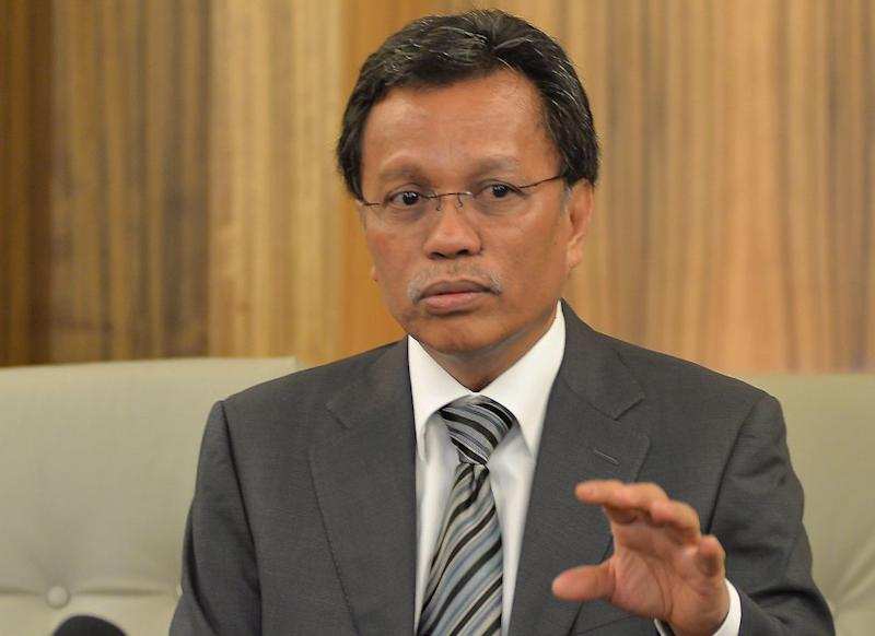 Shaife was commenting on the recent statement by the Education Ministry that the use of English as a teaching medium in schools was a violation of the Constitution. — Bernama pic