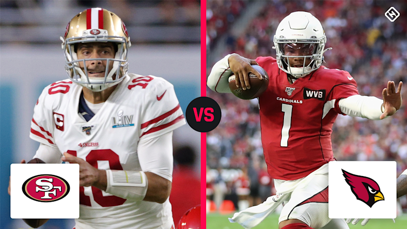 What channel is 49ers vs. Cardinals on today? TV schedule, time for Week 1 NFL game