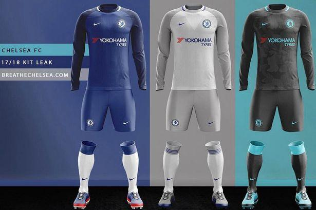 <p>Give or take a golden Premier League badge, and this slick design – with few tweaks from the current home kit – could well be the shirt which will be gracing Stamford Bridge next season. </p>