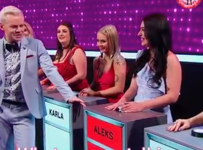 Aleksandra Markovic appeared on Take Me Out in 2018 with Joel Creasy
