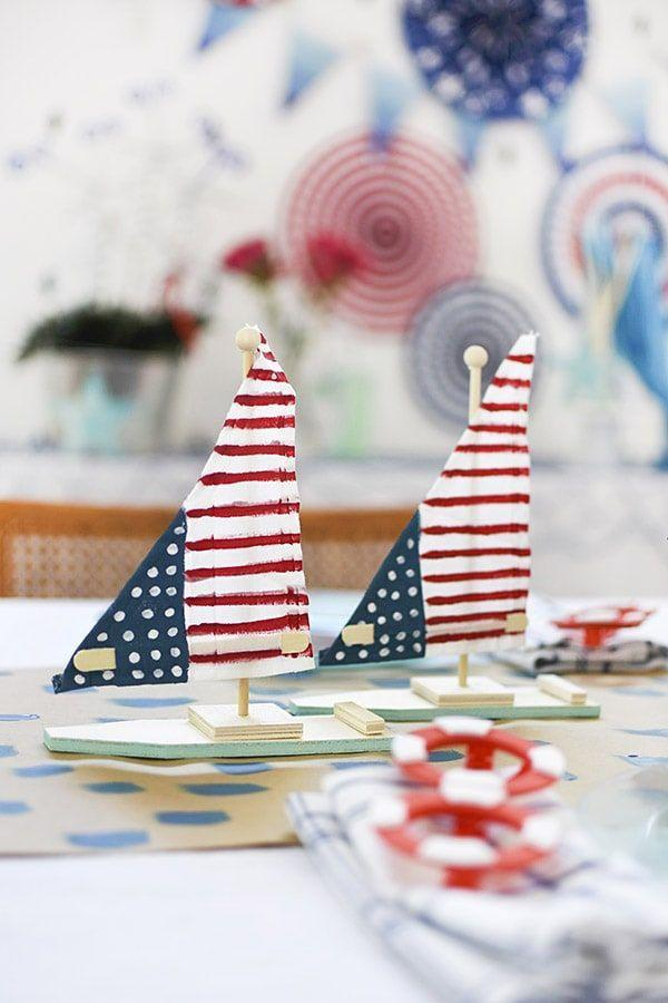 """<p>To keep things cohesive, consider a theme that extends beyond Americana. Some ideas? Lean on seasonal themes, like nautical or '70s summer, or opt for something more patriotic, like stars and stripes.</p><p><a class=""""link rapid-noclick-resp"""" href=""""https://www.delineateyourdwelling.com/nautical-fourth-of-july-party/"""" rel=""""nofollow noopener"""" target=""""_blank"""" data-ylk=""""slk:LEARN MORE"""">LEARN MORE</a></p>"""