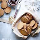 """<p>These Dutch-inspired spiced Christmas cookies are sandwiched together with a rich orange, cinnamon and nutmeg-infused ganache.</p><p><strong><br>Recipe: <a href=""""https://www.goodhousekeeping.com/uk/food/recipes/a574090/speculaas-biscuits/"""" rel=""""nofollow noopener"""" target=""""_blank"""" data-ylk=""""slk:Speculaas Cookie Sandwiches"""" class=""""link rapid-noclick-resp"""">Speculaas Cookie Sandwiches</a></strong></p>"""