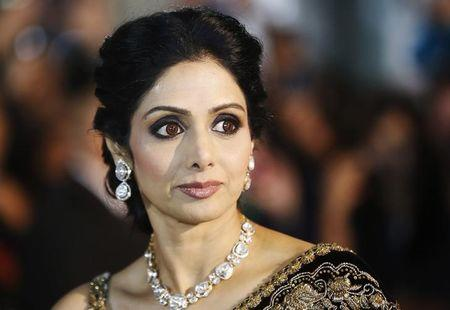 "Actress Sridevi Kapoor arrives for the gala presentation of ""English Vinglish"" at the 37th Toronto International Film Festival, September 14, 2012. REUTERS/Mark Blinch/File Photo"