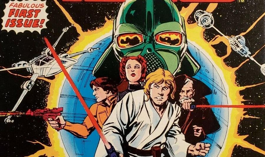 The Marvel characters of A New Hope, outside of Obi-Wan, looking totally different from their movie counterparts.
